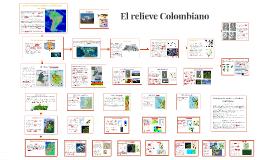 El relieve Colombiano
