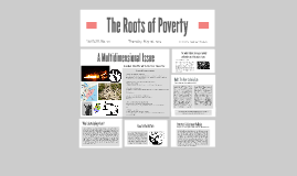 The Root of Poverty