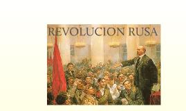 Copy of La revolución rusa