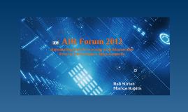 AIR Forum 2012