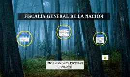 FISCAÍA GENERAL DE LA NACIÓN