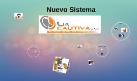 Nuevo Sistema LIA CAUTIVA