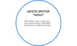 GESTO MOTOR
