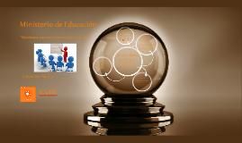 Ministerio: Por una Educación Pública y de Calidad.