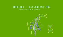 Økologi - biologiens ABC