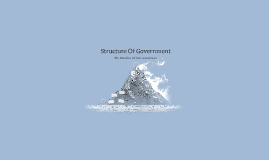 Structure Of Government