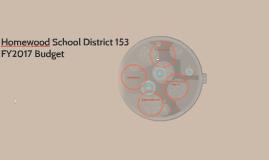 HSD153 FY2017 Final Budget