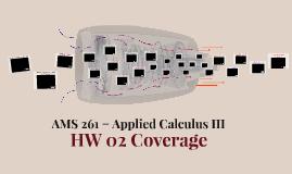 AMS 261 (HW 02 Coverage)