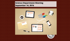 Science Dept Mtg