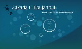 Zakaria El Boujattoui