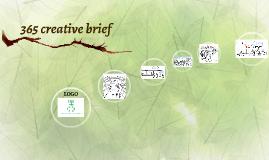365 creative breif