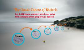 Cannons of Rhetoric