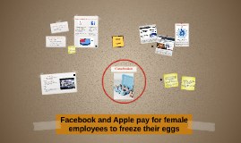 Facebook and Apple pay for female employees to freeze their