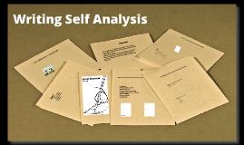 Writing Self Analysis