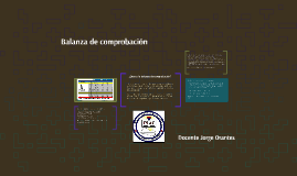 Copy of Balanza de comprobacion