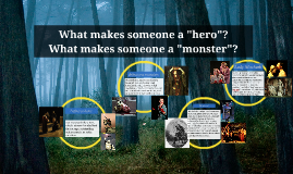 "Copy of What makes someone a ""monster""?"