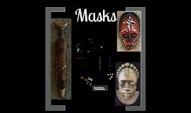 7th Grade -African Masks
