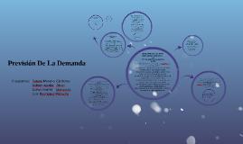 Copy of Prevision DE La Demanda