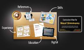 Neal Simmons - Curriculum Vitae
