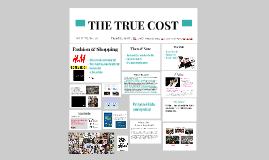 Copy of THE TRUE COST