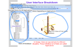 PDMS Design Module - User Interface Layout and Design Database