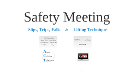 Copy of Safety Meeting