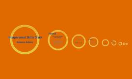 Interpersonal Skills Diary