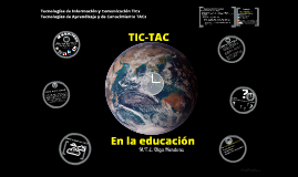 Copy of Uso de TICs y TACs en la Educación
