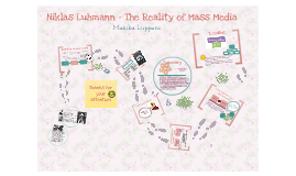 Copy of  Niklas Luhmann - The Reality of Mass Media