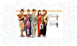 PAKAIAN TRADISIONAL KAUM DI MALAYSIA