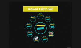 Italian Cars! ERP!
