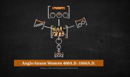 Anglo-Saxon Women 123456789
