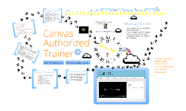 Everybody wants to be a CAT: Introducing the Canvas Authorized Trainer program.