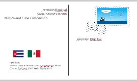 Copy of Cuba and Mexico - A cultural comparison