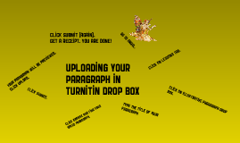 Copy of How to Use the Turnitin Drop Box