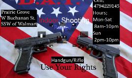 D.A.T. Indoor Shooting Range Proposal