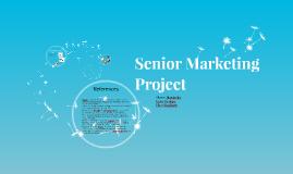 Senior Marketing Project