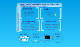 Using TurningPoint Student Response System with eCART Horizon Assessment System