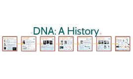 Genetics 1: DNA-A History