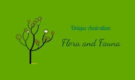 Unique Australian Flora and Fauna