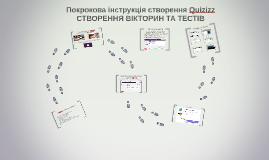 Покрокова інструкція створення Quizizz