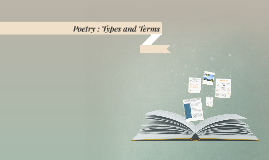 Poetry : Types and Terms