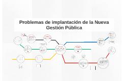 Copy of Problemas de implantación de la Nueva Gestión Pública