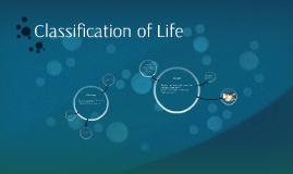 Classificationof Life