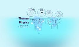 Thermal Physics G484