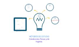 MÉTODOS DE ESTUDIO.