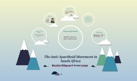 The Anti-Apartheid
