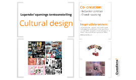 Presentatie White Cube- Lopende tentoonstelling