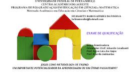 Copy of JOGOS E ATIVIDADES LÚDICAS - PEDAGOGIA - N. 1