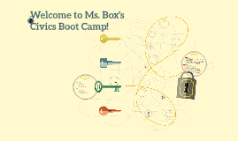 Ms. Box's Civics Boot Camp!